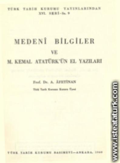 Atatürk'ün Yazdığı Kitaplar7